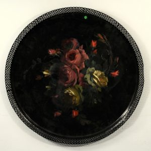 Tray, hand-painted