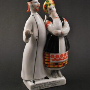 Kiievi portselani kuju - paarike