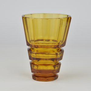 Kollane vaas, klaas