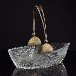 Kristall gondel 875 hõbe sangaga