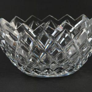 Kristall ovaalne kauss