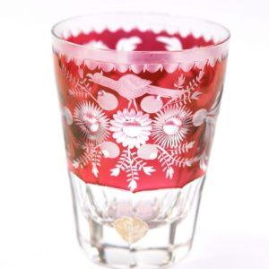 Kristallist värviline Bohemia klaas