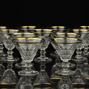 Crystal glasses 11 pieces