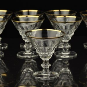 Crystal glasses 9 pieces