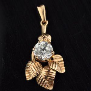 Kuld 583 ripats, mäekristall