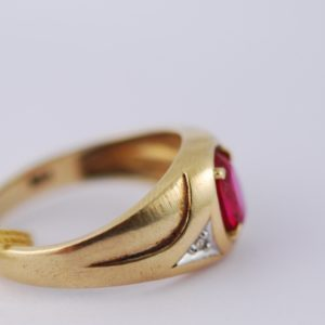 Gold ring 375