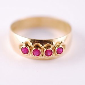 Gold ring 585