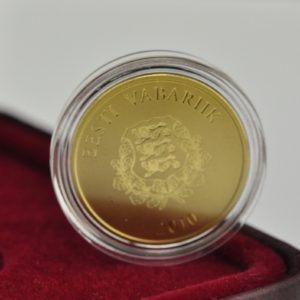 Gold collector coin -The Estonian People -