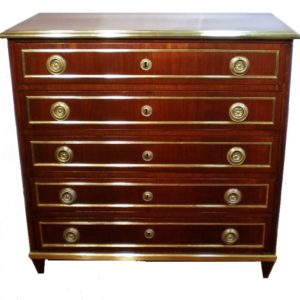 Chest of drawers, 19 century