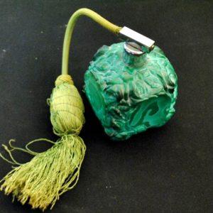 Lõhnaõlipudel, roheline malahhiitklaas 1960a a.