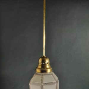 Pendant lamp, with one dome