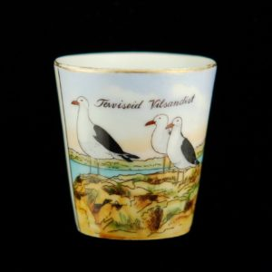 Langebraun porcelain cup from Greetings from Vilsandi