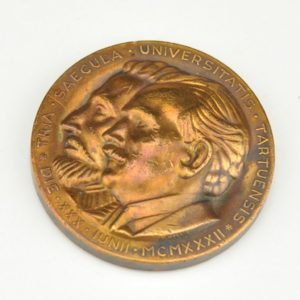 Estonian medal - University of Tartu