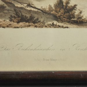 Litografika (värviline) Franz Kluge Reval