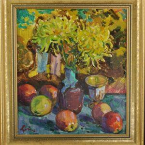 Loik Valerian (1904-1986) Natüürmort 1980a