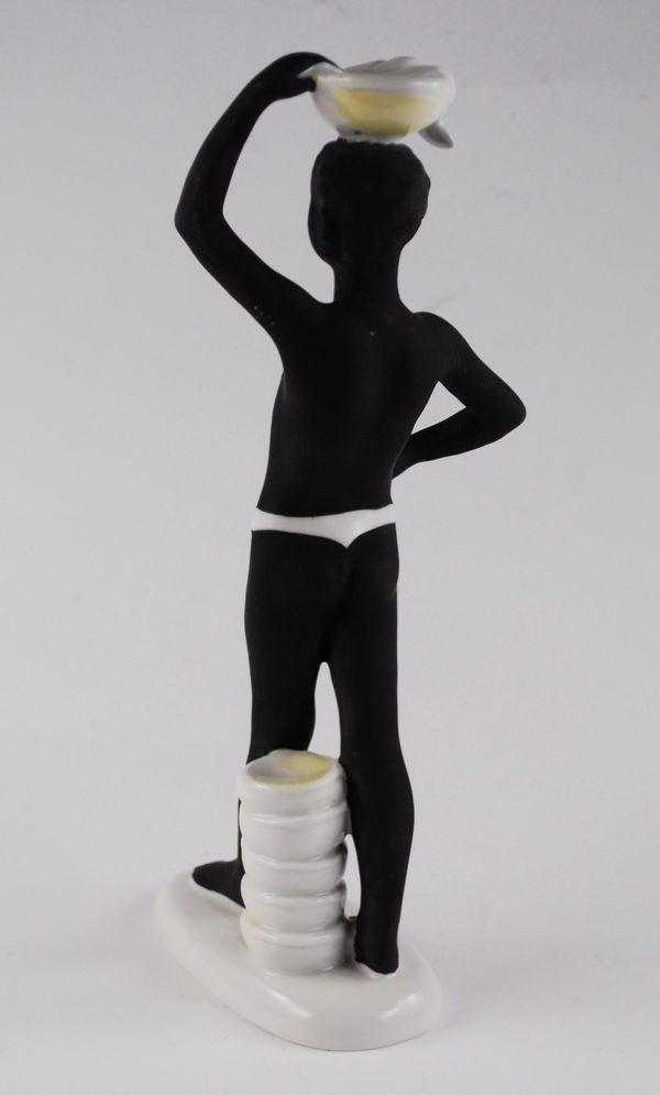 "Lomonossovi portselan kuju Aafrika""1960a."""