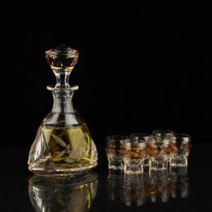 Lorup Crystal Drink Set, Glove No. 164,165