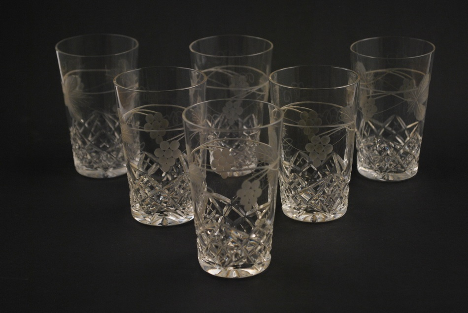 a2b05489d32 Lorupi kristallist 6 klaasi MÜÜDUD - Idla Antiik