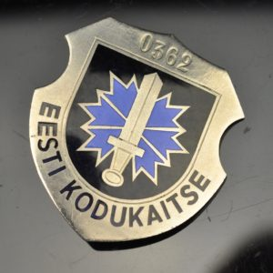 First Estonian republic badge