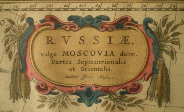 Maakaart, Venemaa