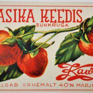 Maasika keedis Kawe MÜÜDUD 7541 len:9061