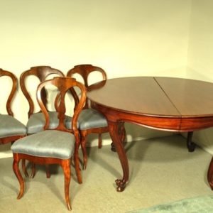 6 chairs from the mahogany, 19th century