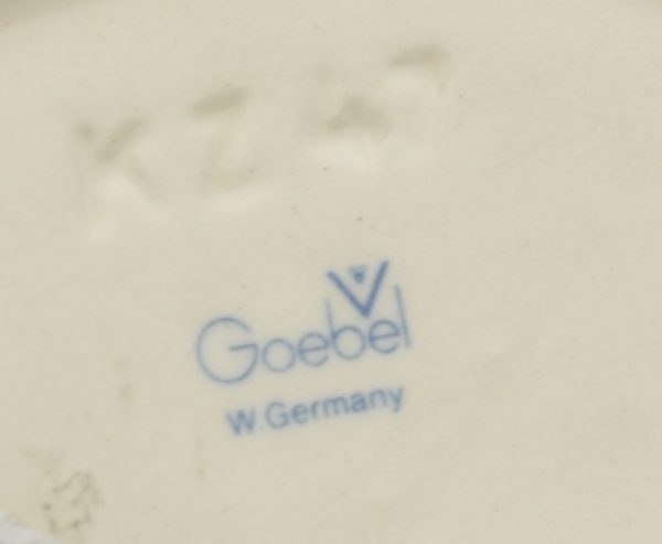 Maiustuste kausike - fajanss, Goebel
