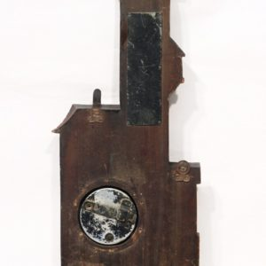 House-shaped barometer