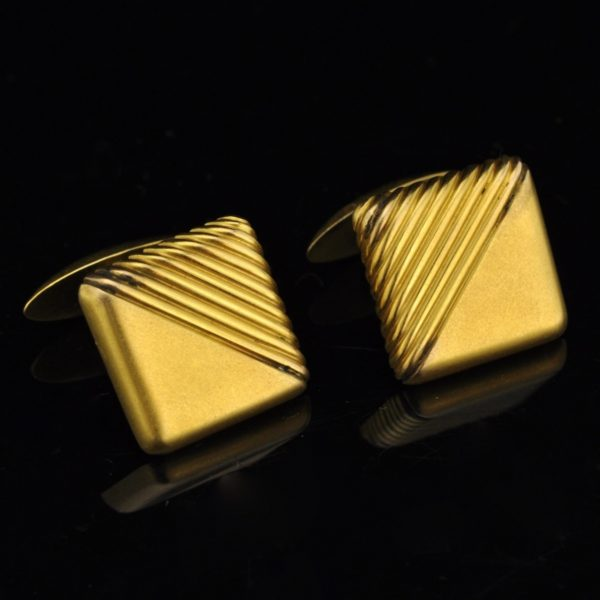 Mansetinööbid, 585 kuld