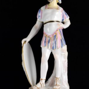 Meissen porcelain soldier