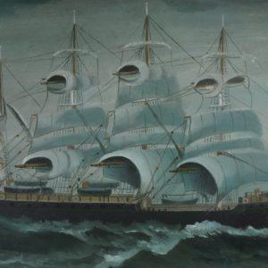 Seascape boat