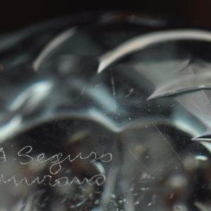 Murano klaas - Linnud - A.Seguso, signeeritud