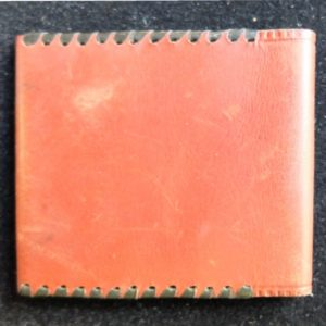 Leather matchbox, Taska