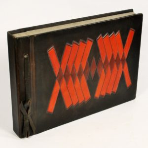 Photo-album, leather cover