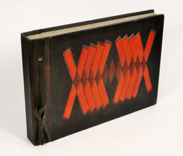 Photo-album, leather cover