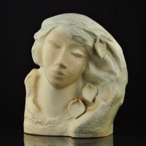 Naima Uustalu Ceramic shape Woman with Screaming Hair
