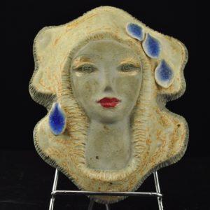 "Naima Uustalu ceramic wall tile ""Woman"""