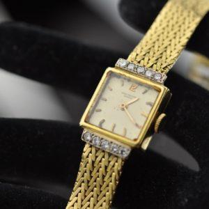 Womens watch - Patter - 750 gold, diamonds