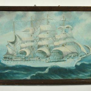 Naif marine painting