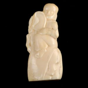 Netsuke chess figure