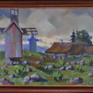 """Nikolai Kull Veskid vaade""""õlimaal 1934a"""""""