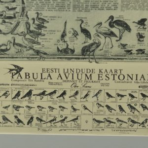 "Olev Soans ""Estonian Birds Card"" 1976-1983"