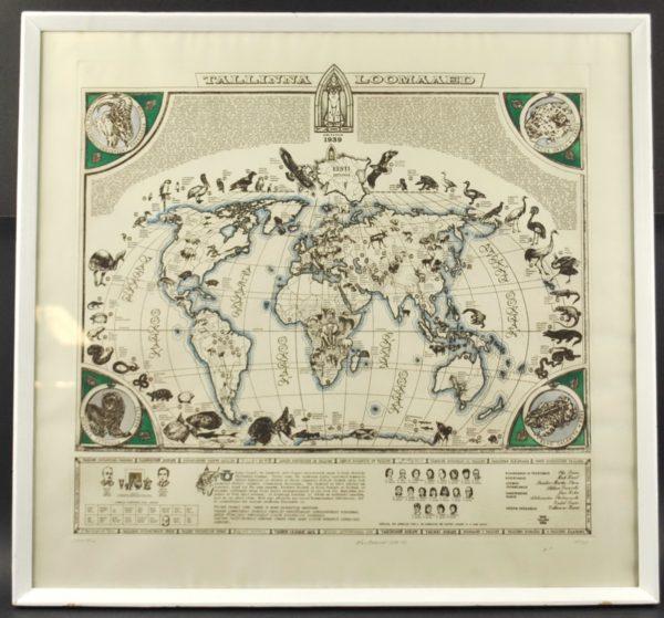 """Olev Soans Tallinna loomaaed""""1988-89a"""""""