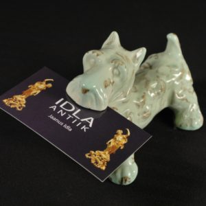 Paberihoidja, Saksa portselan koera kuju