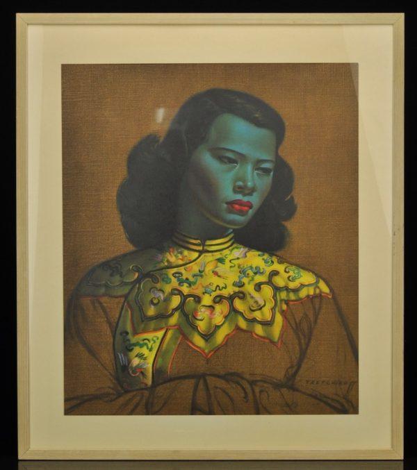 """Vladimir Griegorov Tretchikoff ( 1913-2006) ''Hiina tüdruk"""""""""""