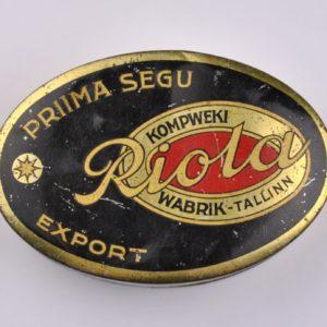 Tin box Riola Wabrik-Tallinn