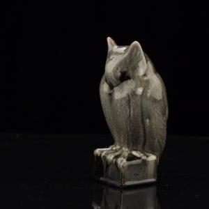 Porcelain figure - Owl