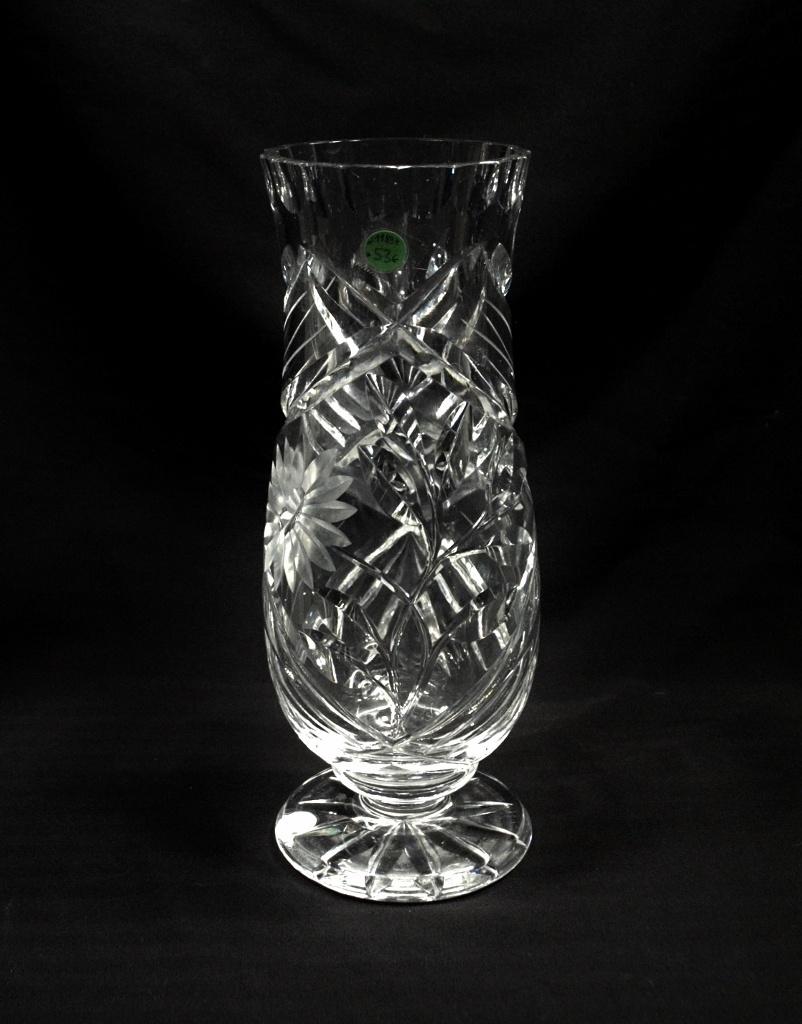 46a6953b637 Poolkristallist vaas, Lorup MÜÜDUD - Idla Antiik