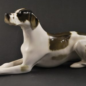 Porcelain dog