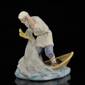 Portselan figuur - Kuldkalake ja taat , Vene